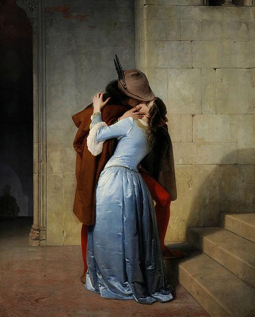 Arte Romantica Il Bacio Francesco Hayez