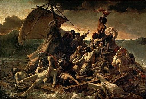 Arte romantica La zattera della Medusa Théodore Géricault
