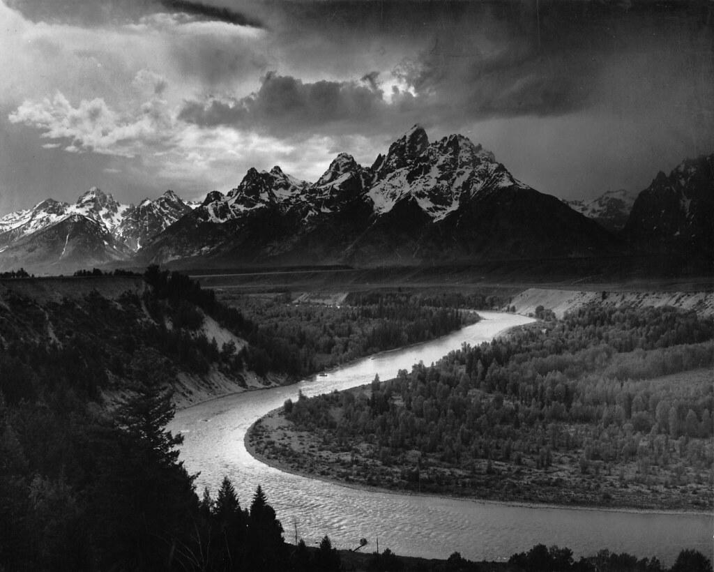 Foto panoramica di Ansel Adams