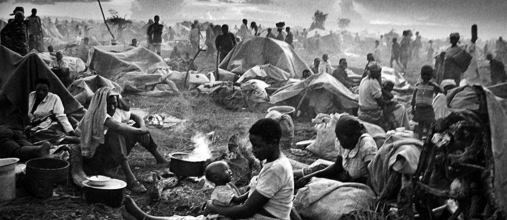Fotografia e giornalismo rifugiati del Ruanda